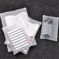 Wholesale translucent square plastic - Waterproof Storage Bag Translucent Moisture Proof Pouch Rectangle For Clothes Ssocks Travel Sealed Bags Easy To Carry 0 78xk7 XB