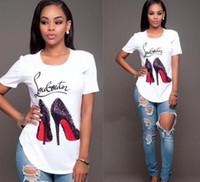 Wholesale pug print t shirt - Top quality Cotton cut pug print women T shirt casual o-neck women T-shirt 2017 new design woman tee shirts