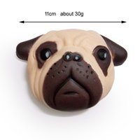 Wholesale Face Kid - 2018 hot sale new design 10cm size Kawaii squishy Dog face squeeze slowing rising kids gift
