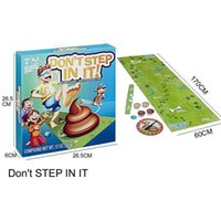 Wholesale wholesale toys for kids online - Halloween Funny Toys for Family NOT STEP IN IT kids Game Blindfolded Poo Dodging Fun Family Party Game funny Toys GGA1112