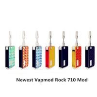 Wholesale Authentic Vapmod Rock Key Box mAh Battery Fast Recharging Preheat Batteries Mod For Thick Oil Cartridge Genuine DHL Free