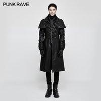 Steampunk Punk Rave Femmes Hommes Mitaines en Cuir Synthétique Gothique Fête