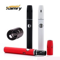 Wholesale ecigarettes kits - Hot Authentic Kamry Kecig 2.0 plus tabacco Vape Kit 650mAh Battery Heating Stick dry herb Vaporizer Pen Heat-not-Burn Smokeless Ecigarettes