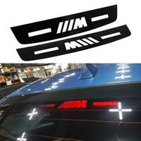 Wholesale accessories bmw resale online - Car Styling Brake Light Sticker For BMW E46 E90 E91 E92 E93 F30 F31 F35 F80 F10 F01 F02 F03 F04 Series Auto Car accessories