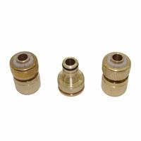Wholesale tap connectors resale online - 1 set Copper Fittings Quick Taps joint Brass Faucets Standard Connector garden water irrigation Accessories