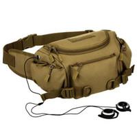 ingrosso sacchetto di vita esterno multifunzionale-Hot Utility Tactical Gear Outdoor Escursionismo Marsupio Borsa da viaggio Outdoor Sport Running Camping Multifunzione Fanny Packs Unisex