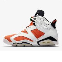 Wholesale Mens Chinese Shoes - Air 6 Gatorade Like Mike Chinese New Year UNC Mens Basketball Shoes Drop Ship