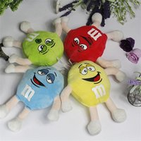 Wholesale letter soft toys for sale - 20cm inch Letter M Plush Dolls Pendant Cartoon PP Cotton Stuffed Toys Kwaii Animals Soft Children Birthday Christmas Gift jj YY