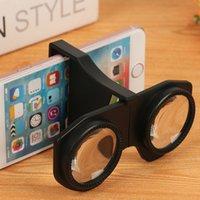 universal 3d vr al por mayor-Mini gafas VR plegables Realidad virtual portátil Gafas 3D Gafas 3D Video Movie Gafas para teléfono móvil
