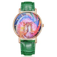 женские наручные часы оптовых-GENBOLI  Bracelet Watches For Women Leather Strap Quartz Wristwatches Ladies Dress Watches Women Clock Gifts