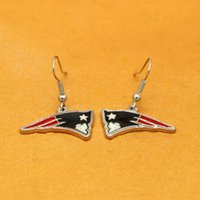 Wholesale united wings - Fashion latest design sports series Eagle wings earrings Europe and the United States fashion jewelry wholesale