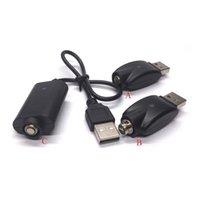 estilos de vape al por mayor-Estilo rico Cigarrillos electrónicos Cargador USB Cable largo y Cargadores USB inalámbricos para todos 510 EGO Batería de hilo EVOD CE3 Cartuchos Vape Pen