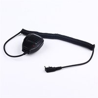 Wholesale kenwood speaker mic - Best Walkie Talkie Baofeng Speaker MIC For r Kenwood TYT Pofung Handheld UV5r UV-82 Bf-888s Bf 888s UV-5R Accessories Microphone