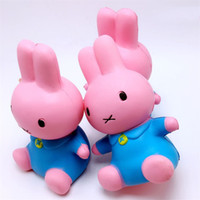 Wholesale Cute Cellphone Charms - Decompression Toy Squishy Interesting Kids Jumbo Popular Squishies Squeeze Cute Simulation Red Rabbit Cellphone Charms High Quality 8 8bqa Z