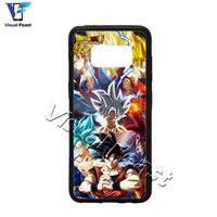 Wholesale Character Phone Cases - Ultra Instinct Dragon Ball Super Phone Case Goku All Characters Silver Mastered DBS DBZ Anime For S8 Phone Case Cover Free Gift