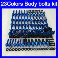 Wholesale 1996 Honda Cbr F3 Fairings - Fairing bolts full screw kit For HONDA CBR600F3 95 96 97 98 CBR600 F3 CBR 600 F3 1995 1996 1997 1998 Body Nuts screws nut bolt kit 23Colors