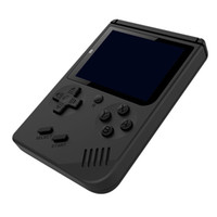 consoles de jeu achat en gros de-Portable Mini console de jeu portatif RS-6 mis à jour 168 jeux consoles 3.0 pouces LCD couleur rétro jeu joueur pour FC