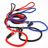 Wholesale game dog collars - Pet dogs lead competitio Game Training Walk Small Medium Large Pet Dog Leash ADJUSTABLE Traction Collar Rope Chain Harness Nylon