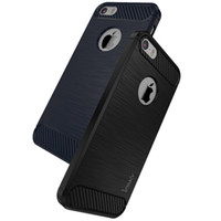 Wholesale Iphone 5s Cases Durable - iPaky Case For iPhone 5 5S SE Brushed TPU Back Cover Soft Durable Drop-proof Cases With Retail Package Wholesale In Stock