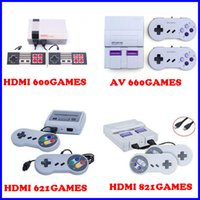 Wholesale av console - Coolbaby HDMI av can store 600 621 821 660 620 500 Games Console Video Handheld for SFC with retail box for nes