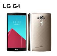 yenilenmiş lg toptan satış-Orijinal Unlocked LG G4 Hexa H815 H810 H811 H818 5.5 Inç 3 GB + 32 GB Depolama 8MP Kamera GPS WiFi LG Android yenilenmiş telefon