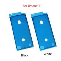 iphone ön çıkartmaları toptan satış-10 adet Perakende 3 M Önceden Kesilmiş Su Geçirmez Yapışkan Bant Tutkal iPhone 6 6 Artı Ön Konut LCD Dokunmatik Ekran Çerçevesi Sticker iphone 7 7 Artı