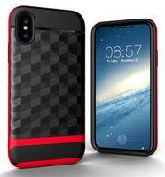сотовые телефоны iphone 5s оптовых-2 в 1 защитник телефон Case для iPhone X 8 7 6 6 S Plus 5 5S SE противоударный Hyrid сотовый телефон случаях для Samsung Note8 Galaxy S7 S8 плюс крышка