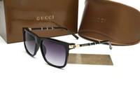 gafas de sol de importación al por mayor-2018 Nuevos materiales importados polarizados gafas de sol de la marca europea moda Hombres Mujeres Diseñador Gafas de sol Mujeres Gran Marco Sunglass