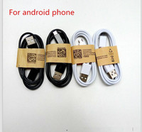 Wholesale i android - 2018 Good quality USB Cable Data line Light Cords Adapter Charger Wire Charger Wire for Android Phone 1M 3FT For I phone 5  6 7 8