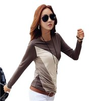 Wholesale big sizes womens clothing for sale - Tee Shirt Femme T Shirt Women Long Sleeve Cotton Tshirt Kawaii Korean Clothing Womens Tops Big Size T Shirt Camisetas Mujer