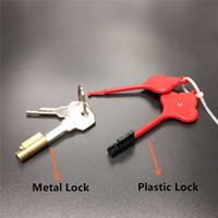 ingrosso accessori gabbia di castità-PlasticMetal Magic Lock For Chastity Cage Nuovi accessori per castità