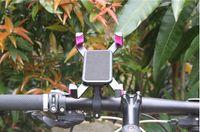 grampo para bicicleta venda por atacado-Guidão da bicicleta clipe de suporte de montagem de 360 graus de rotação do telefone móvel suporte da bicicleta suporte para iphone 6 6 plus 7 8 para samsung gps