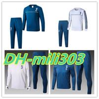 Wholesale Drawstring Jacket - Top quality JUV 2017-18 DYBALA Football jacket tracksuit 17 18 HIGUAIN de foot MARCHISIO ZAZA DANI ALVES jacket Training suit free shipping