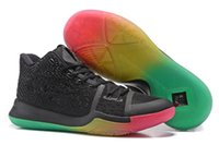 Wholesale Orange Tennis Balls - 2017 New Arrival Kyrie Irving 3 Signature Game Basketball Shoes For Top Quality Men's Sports Training Basket ball Sneakers Size 40-46