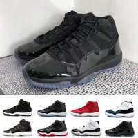 Wholesale glitter women - High quality 11s Prom Night Black Out PRM Heiress WIN LIKE 82 96 Space Jam Men Women Basketball Shoes 11s Athletic Sports Sneakers