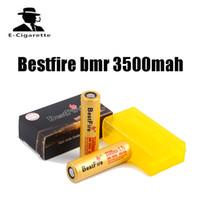lanternas fedex venda por atacado-Bestfire Original BMR 18650 3500 mah bateria de lítio Recarregável 35A Trabalho para E-cigarros Mod e Lanterna FEDEX frete grátis