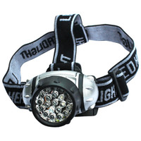 Wholesale miners headlights - LED Headlamps Camping Equipment Fishing Strong Miner Light Water proof Torch Riding Headlights Adjustable Elastic band Rotatable 8yj bb