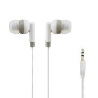 kulaklık hattı kontrolü toptan satış-200 adet Kulak 3.5mm Kablolu Kulaklık Kulaklık In-line Android Telefon için Mic Olmadan Kontrol bilgisayar Smartphone
