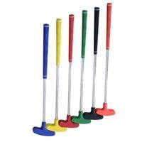 eje de calidad al por mayor-Niños Putters de Golf Mini Polo de Acero Empuñadura de Varilla de Goma Accesorios de Ocio Juegos de Ocio Al Aire Libre Rojo Verde de Alta Calidad 45kr Ww