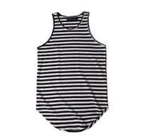 4ef96c2fb58ac1 Wholesale tank top men swag for sale - New arrivals men striped tank top  camiseta tirantes