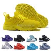 size 40 f4f94 c9598 2018 TOP PRESTO 5 BR QS Breathe Schwarz Weiß Gelb Rot Herren Schuhe  Turnschuhe Frauen Laufschuhe Heiße Männer Sport Schuh Walking designer