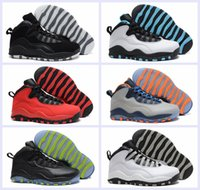 Wholesale Height Increasing Shoes China - 2018 Air Retro 10 Men Basketball Shoes Online Superstar China Retros 10s X Sports Canvas Mens Trainers Sneakers Size 41-47