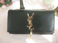 Wholesale o handbag - high quality 2018 handbag genuine leather handbags women bags o bag designer women messenger bags with chains bolsas femininas