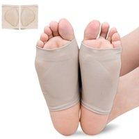 orthopädische schuhgel einlegesohlen großhandel-Fußsocken Für Pediküre Werkzeuge Arch Support Sleeve Kissen Pads Füße Massager Plattfuß Einlegesohle Orthopädische Schuhe Einlegesohlen Gel