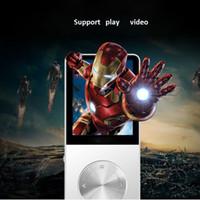 Wholesale Metal MP3 MP4 Player GB GB GB Slim Sport MP4 Game Lcd Flash Hifi Mini Music Video Player FM Radio TF Recorder OTH260