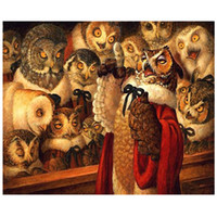 Wholesale owl pictures for sale - Group buy New painting diamond embroidery owl animal d diamond painting cross stitch d pictures mosaic painting rhinestones full drill