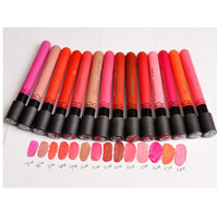 Wholesale Maquillage Labiales Color Liquid Matte Lipstick Batom Long Lasting Pintalabios Waterproof Beauty Makeup Lip Stick