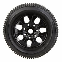 Wholesale hsp rc tires - 2Pcs RC 1 8 Truck Car Wheel Rim and Tire 810011 fr Traxxas HSP Tamiya HPI RC Car