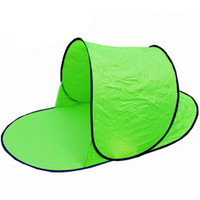 палатки один оптовых-Vertvie Green New Outdoor Camping Tent One Person Solid Bedroom Sun Shelter Tents Summer Beach Traveling Ultra-light Tent