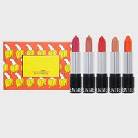 Wholesale lipstick brands names resale online - New Arrival The Summer Collection Lipstick Kit Hot Brand Matte Lipstick set colors with Name